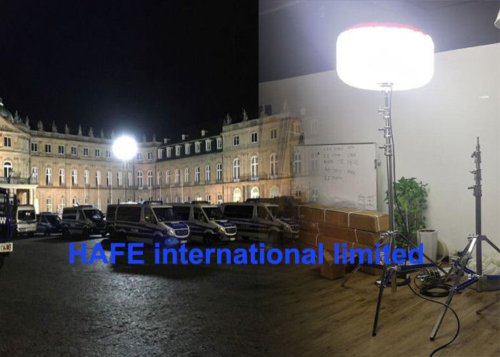 400W Led Emergency Safety Lights Industrial Outdoor Led Light Tower Balloon